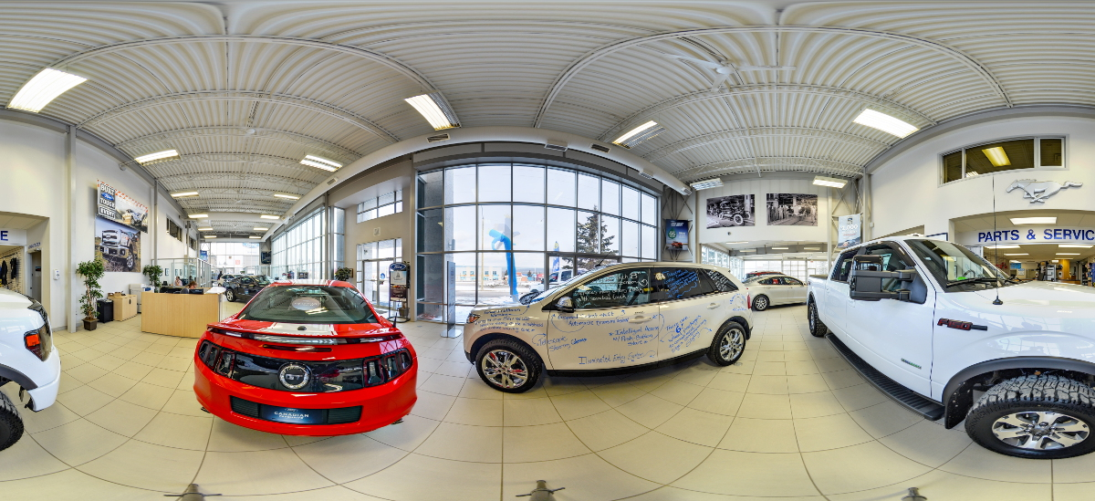 Griffiths Ford showroom